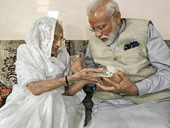 Coronavirus: PM Modi's Mother Donates Rs 25,000 To His PM-CARES Fund