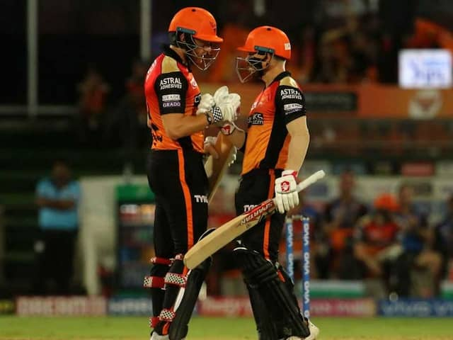 IPL Highlights, SRH vs CSK IPL Score: Jonny Bairstow, David Warner Hit Fifties As SunRisers Hyderabad Thrash Chennai Super Kings