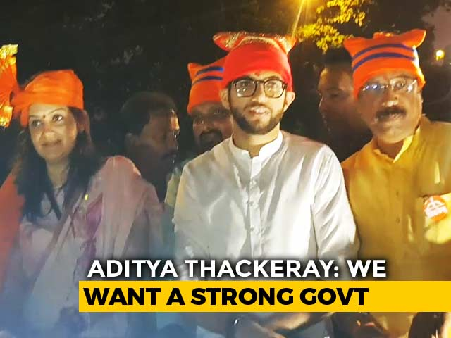 Video : Shiv Sena's Aditya Thackeray On The Campaign Trail