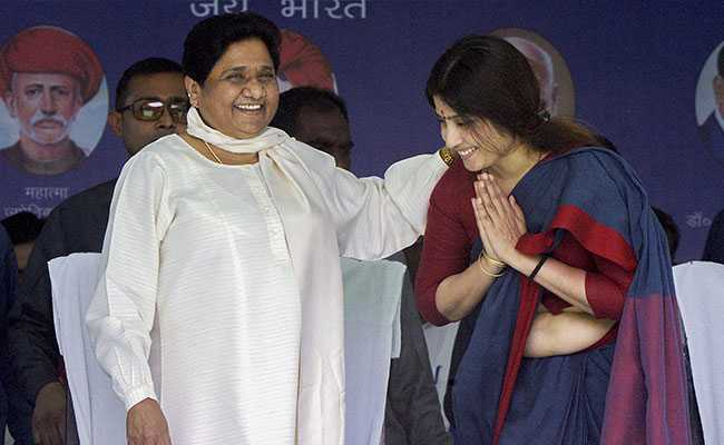 'Part Of My Family': Mayawati After Dimple Yadav Touched Feet On Video
