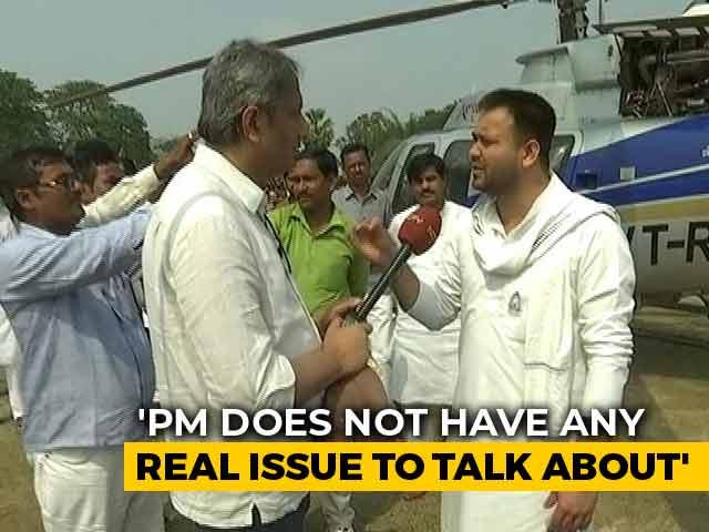 Video : PM Modi's Politics Is Made Of Lies: Tejashwi Yadav Tells NDTV's Ravish Kumar