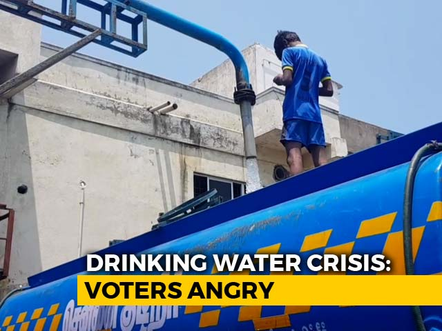 Video : Chennai Water Scarcity: South Chennai Residents Demand Action Plan From Candidates