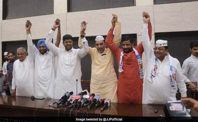 AAP, Dushyant Chautala's Party Tie Up For Lok Sabha Elections In Haryana