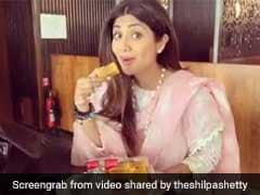 Need Monday Motivation? Watch Shilpa Shetty Bingeing On Heavenly Mysore Pak In Bengaluru