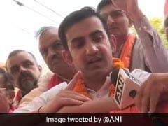 """Have Just One Voter ID Card"": Gautam Gambhir On AAP Claim Of Poll Fraud"