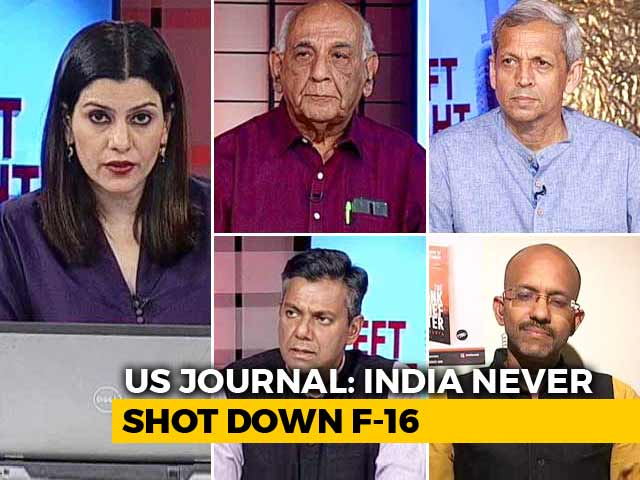Video : US Journal Report Contradicts India's Claim Of Shooting Down Pak F-16