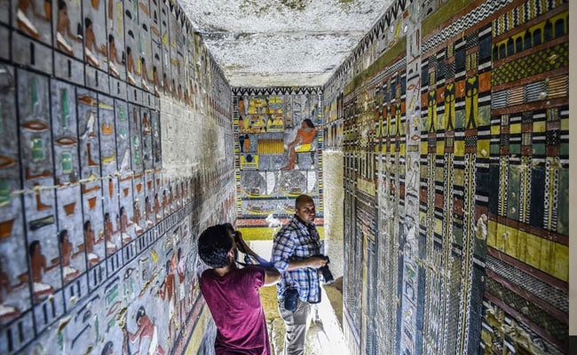 Egypt Unveils 4300-Year-Old Fifth Dynasty Tomb