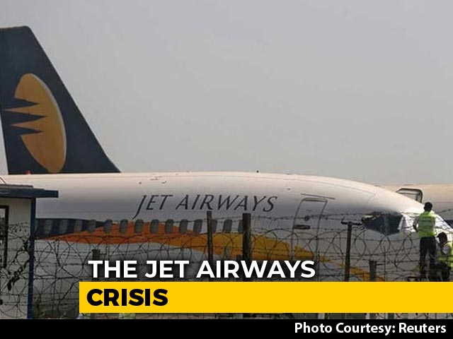 Video : Jet Airways Crisis Deepens As Airline Operates With Less Than 10 Planes