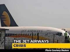 Video: Jet Airways Crisis Deepens As Airline Operates With Less Than 10 Planes