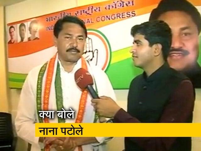Video : नागपुर: नितिन गडकरी के मुकाबले कांग्रेस से चुनाव लड़ रहे नाना पटोले