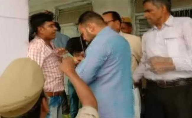 BJP Men Beat UP Poll Officer Allegedly For Asking Voters To Press 'Cycle'
