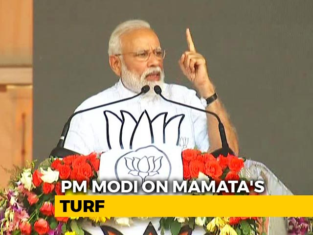 "Video : ""Congress Manifesto Expires On May 23,"" Says PM Modi In Kolkata"