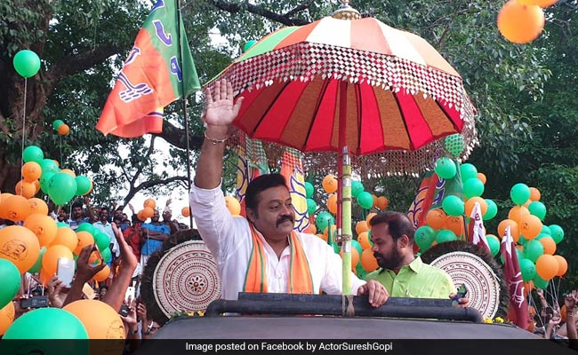 BJP's Actor-Politician Candidate Violated Model Code: Kerala Election Chief