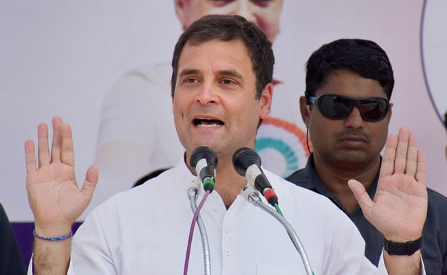 At Bihar Rally, Rahul Gandhi Calls Namesake On Stage, Crowd Cheers On