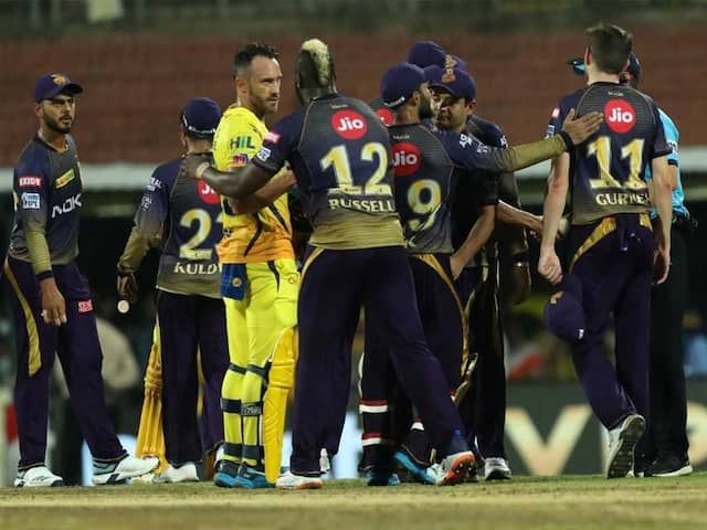 IPL 2019: CSK Crush KKR In A Low-Scoring Encounter To Go Top Of The Table