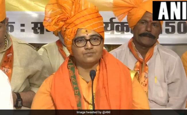 Had 'Cursed' Hemant Karkare, Brags Sadhvi Pragya, Claps From BJP Leaders