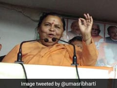 """Brother-Sister Need Dose"": Uma Bharti Explains Jab At Priyanka Gandhi"