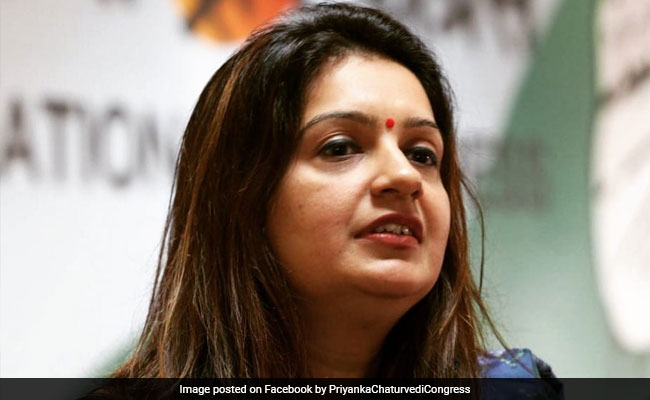 'Goons Get Preference In Congress': Priyanka Chaturvedi Attacks Own Party