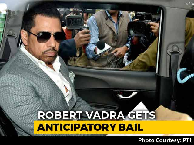 Video : Robert Vadra Gets Protection From Arrest, Needs Permission To Fly Abroad