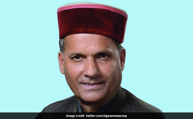 BJP's First-Time Lawmaker Swaroop Sharma Tops Fund Allocation In Himachal