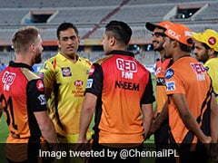"MS Dhoni The ""Centre Of Solar System"" Despite Missing SRH Game - Watch"