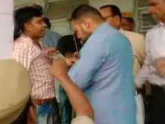 "BJP Workers Thrash UP Polling Officer For Asking Voters To Press ""Cycle"""