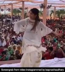 सपना चौधरी ने हरियाणवी सॉन्ग पर फिर किया धमाकेदार डांस,  Video ने उड़ाया गरदा