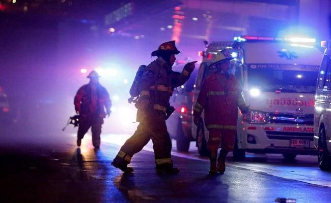 Fire At Bangkok Shopping Mall Kills At Least Two, Injures 16