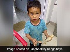 साइकल लेकर मुर्गी के चूजे पर चढ़ गया बच्चा, 10 रुपये लेकर पहुंचा अस्तपाल, बोला- प्लीज इसे बचा लो
