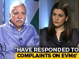 """Video : """"Can't Tamper EVM, But Machines Malfunction"""": Chief Election Commissioner"""