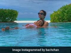 Into The Blue: Aishwarya Rai Bachchan And Aaradhya's Postcard-Worthy Pic From Maldives