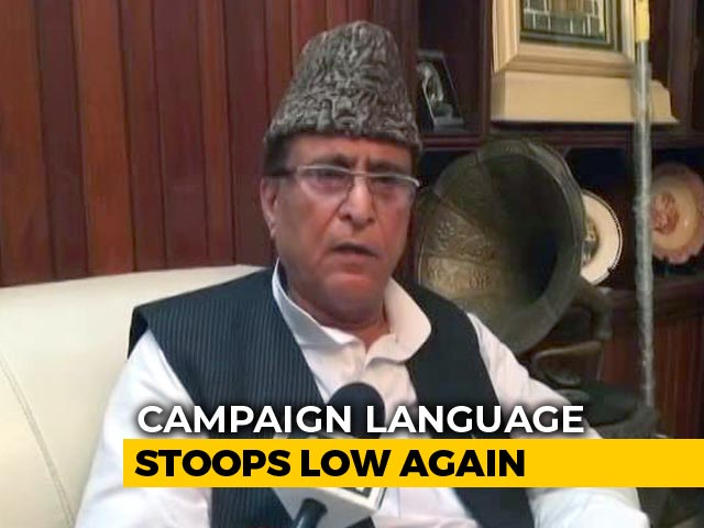 "Video : ""Won't Contest If Proven Guilty"": Azam Khan On ""Khaki Underwear"" Remarks"