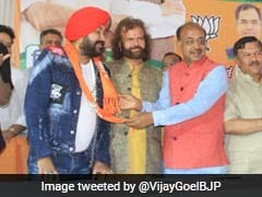 """BJP Minister Tweets Daler Mehndi's """"Best Song"""" To Welcome Him To Party"""