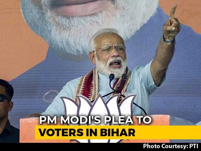 """Video : """"Congress Couldn't Finish Work In 70 Years, How Can I In 5?"""": PM In Bihar"""