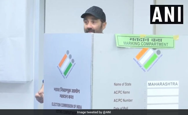 Sunny Deol Files Poll Papers In Gurdaspur, Votes In Mumbai, All In A Day