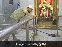 3 साल से राम मंदिर की सफाई कर रहा है 'सद्दाम हुसैन', बोला- 'बहुत अच्छा लगता है....'