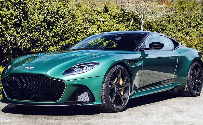 Aston Martin will make only 24 examples of the DBS 59.
