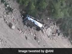 At Least 10 Dead After Bus Falls Into Gorge Near Dalhousie In Himachal
