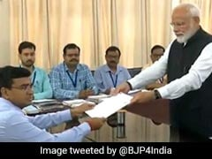 Election 2019: PM Modi Files Poll Papers In Varanasi, Allies Join In Show Of Strength