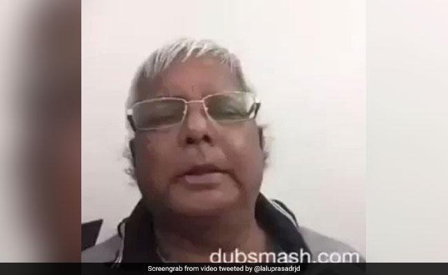 लालू प्रसाद यादव ने पीएम मोदी पर कसा तंज, ट्वीट किया ये मजेदार Video