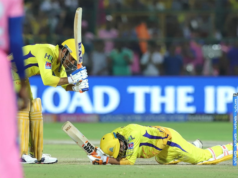 "Watch: MS Dhoni Hits Ravindra Jadeja On The Head With His Bat After ""Ludicrous"" Six"