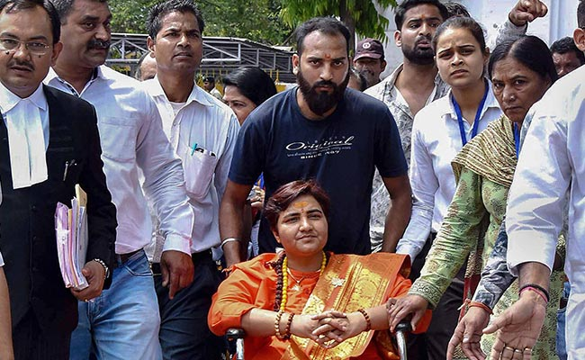 Among Pragya Thakur's Assets, Brick For Ayodhya, Utensils - All In Silver