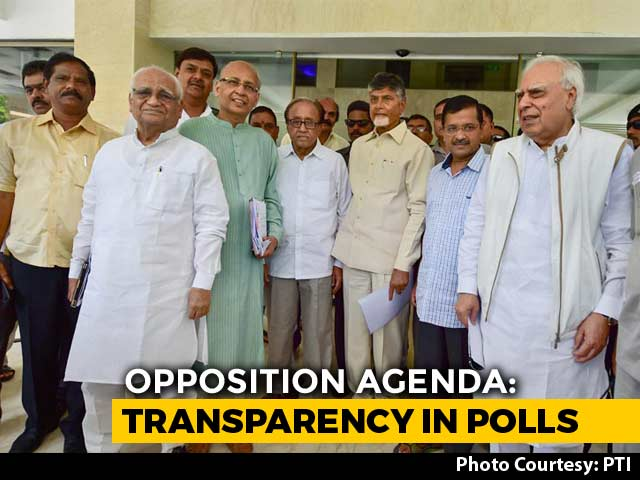 Video : Chandrababu Naidu Leads Opposition Attack Over EVMs, Demands Ballot Votes