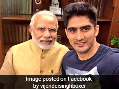 """Didn't Know What Was Behind The Mask"": Vijender Singh Jabs PM Modi"