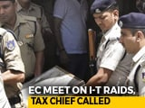 Video: On Raids, Government Silent On Key Point Raised By Election Commission