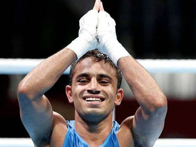 BOXING: Amit panghal wins the Gold in Asian Championship