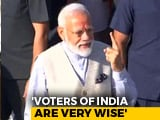 "Video : ""Voter ID More Powerful Than IED,"" Says PM After Voting In Ahmedabad"