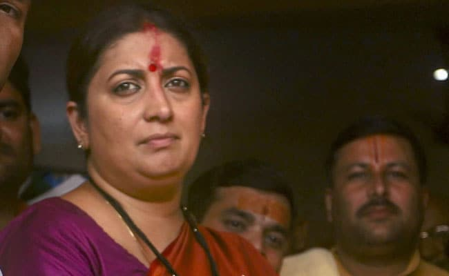 Smriti Irani Asks Amethi Voters To Say Bid Farewell To 'Missing Lawmaker'
