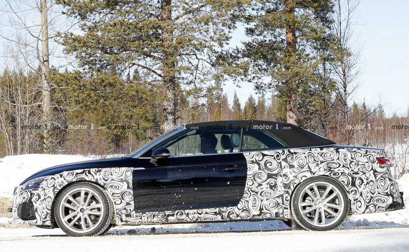2020 Audi A5 Cabriolet Spotted Testing For The First Time