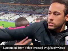 "Watch: Video Emerges Of Neymar Appearing To ""Punch"" Fan After PSG"
